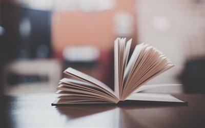 книга, стол