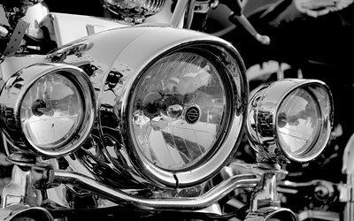 мотоцикл, фара, фары