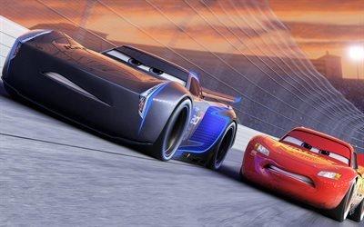 Тачки 3, Молния Маквин, мультфильмы 2017 года, Cars 3