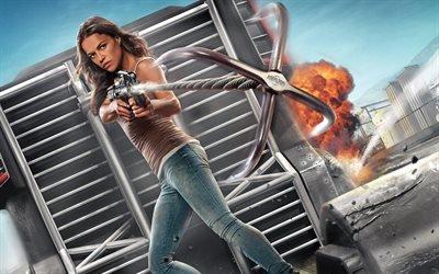 Форсаж - Перезагрузка, Fast & Furious, 2015, боевик, Мишель Родригес, Michelle Rodrigues