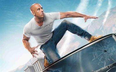 Форсаж - Перезагрузка, Fast & Furious, 2015, боевик, Вин Дизель, Vin Diesel
