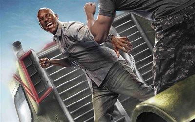 Форсаж - Перезагрузка, Fast & Furious, 2015, боевик, Тайриз Гибсон, Tyrese Gibson