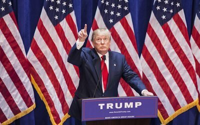 Дональд Трамп, Donald Trump, США, новый президент США, 45-ый президент США