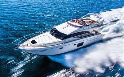 Море, Волны, Ветер, Моторная яхта, Princess 60