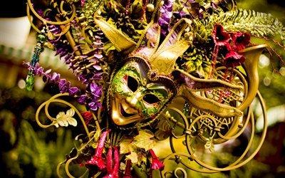Марди Гра, карнавальная маска, Mardi gras