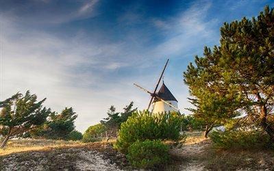 остров Нуармутье, Вандея, Франция, Noirmoutier, France