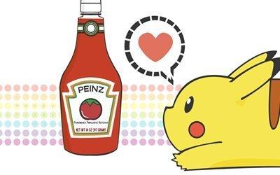 покемон, ketchup, кетчуп, пикачу, pikachu, pokemon
