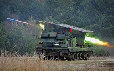 Ракетно - артилерийская система залпового огня, Нижняя Саксония, Германия, German, Mars 2, Military vehicle