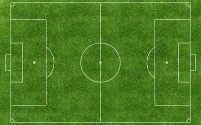 газон, футбол, поле, стадион
