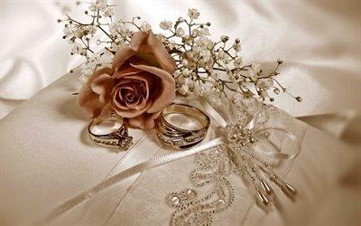 Весілля, обручки, кольца, шелк, свадьба