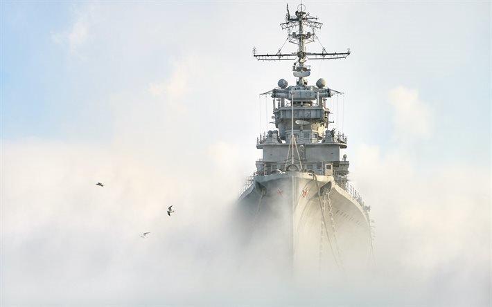 Михаил Кутузов, крейсер, ВМФ России, море, боевые корабли