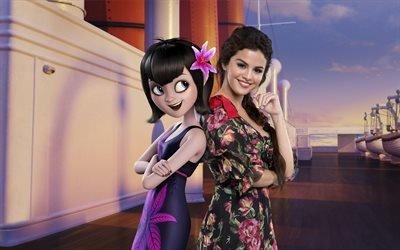 Монстры на каникулах 3 ; Море зовёт, Hotel Transylvania 3, мультфильм, комедия, Селена Гомес, Selena Gomez, Мэйвис
