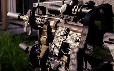 винтовка с глушителем, M4, magpul, штурмовые винтовки