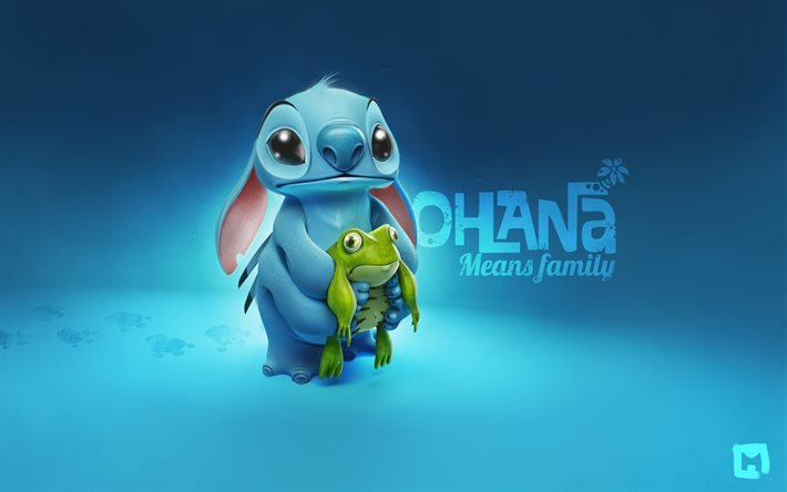 Лило и Стич, Lilo Stitch, ohana means family