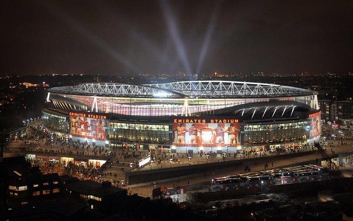 Эмирейтс, лондонский стадион, Лондон, Emirates Stadium, Арсенал, футбол