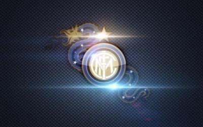 Интер Милан, логотип, Интернационале, футбол, Inter Milan
