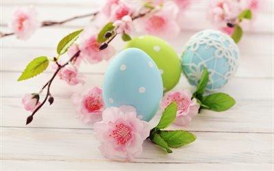 крашанки, крашанка, пасхальные яйца, Пасха, Великодень, цветы