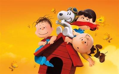 The Peanuts, персонажи, Снупи и мелочь пузатая в кино, сюжет