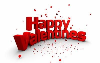 День Святого Валентина, Happy Valentines Day, 3д