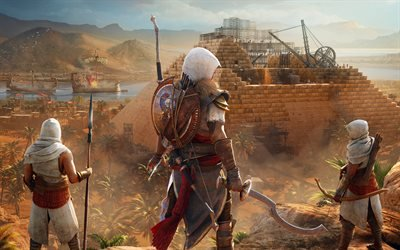 Assassins Creed : Истоки, Assassins Creed : Origins, 2017, компьютерная игра в жанре экшн