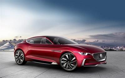 MG E-Motion, 2017, роскошный электромобиль, спортивное купе, MG