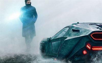 Бегущий по лезвию 2, 2017, Райан Гослинг, Officer K, Blade Runner 2049, Ryan Gosling