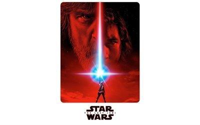 Звёздные войны, Последние джедаи, 2017, 4k, Star Wars, The Last Jedi, постер, Фэнтези