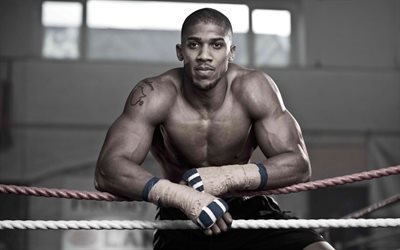 британский боксер, Anthony Joshua, Энтони Джошуа, чемпион мира, бокс, ринг