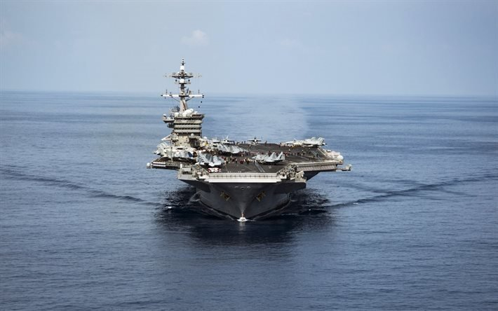 американский авианосец, Карл Винсон, USS Carl Vinson, CVN 70, Нимиц, военный флот США