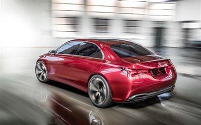 Мерседес-Бенц, концепт, седан, 2017, Mercedes-Benz, Concept A Sedan