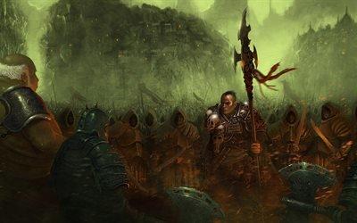 воин, топоры, skull, черепа, оружее, firearm, warrior, axes