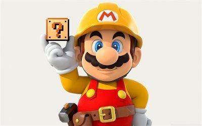 Супер Марио, 3д, super mario, 2016
