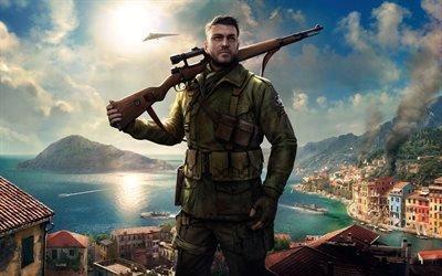 Sniper Elite 4, 2017, новая гира, Снайпер 4