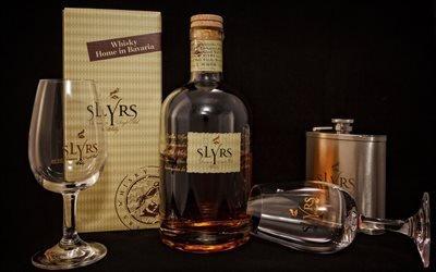 Натюрморт с виски, Slyrs, Слюрс, баварский односолодовый виски