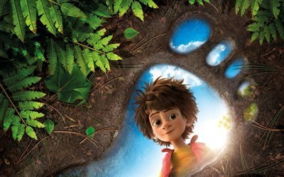 Бигфут младший, The Son of Bigfoot, 2017, Франция, Бельгия, мультфильм