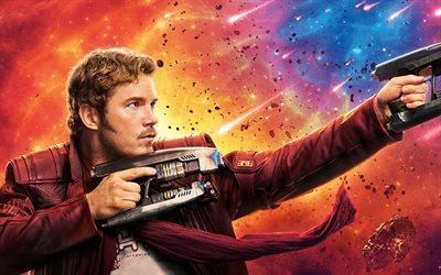 Стражи Галактики 2, Guardians of the Galaxy 2, 2017, боевик, комедия, Крис Прэтт, Chris Pratt