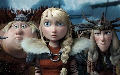 Как приручить дракона 2, How to Train Your Dragon 2, 2014, мультфильм, фэнтези, приключения