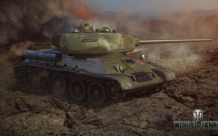 Т-34, WoT, World of Tanks, Мир танков