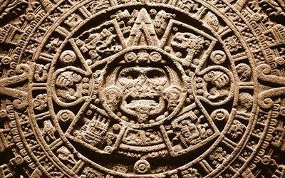 Камень солнца, Ацтеки, Национальный музей антропологии, Мехико