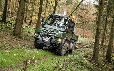 Мерседес-Бенц, Унимог, лесозаготовительная машина, Mercedes-Benz, Unimog
