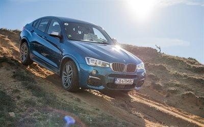 БМВ, кроссовер, бездорожье, BMW, X4