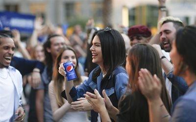 Пепси, Pepsi, рекламная кампания, Кендалл Дженнер, Kendall Jenner, американская топ-модель, american fashion model, Кендалл Николь Дженнер, Kendall Nicole Jenner