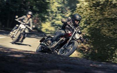 Триумф, мотоцикл, 2017, Triumph, Bonneville Bobber