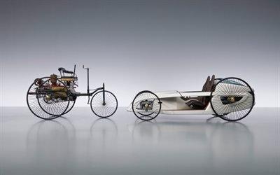 Мерседес Бенц, F-Cell Roadster, водородный автомобиль, концепт, арт