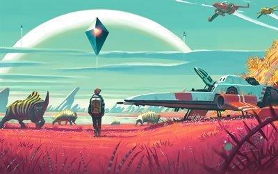 No Mans Sky, Ps4, игра, космический симулятор