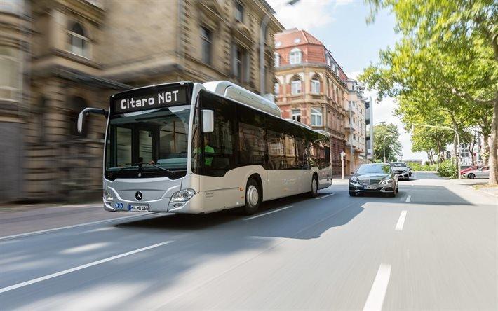 Мерседес-Бенц, Ситаро, гордской автобус, Mercedes-Benz, Citaro