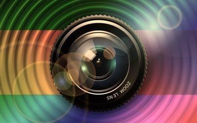 Камера, Объектив, Текстуры