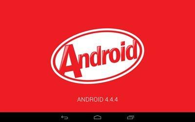 Андройд, Android 4 4 4, ОС, Android, логотип, Android 4-4-4