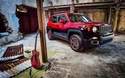 Джип, Ренегат, компактный кроссовер, тюнинг, 2015, Jeep, Renegade, Garage Italia Customs