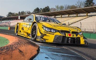 БМВ, гоночное купе, 2017, BMW, M4 DTM